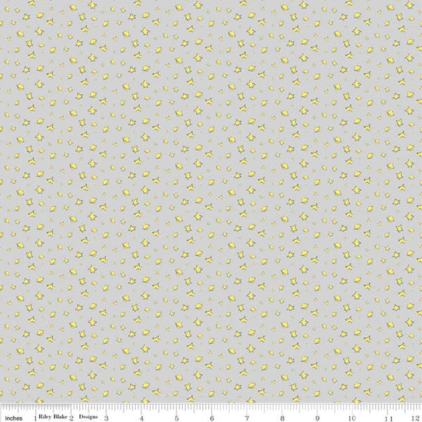 The Little Prince by The RBD Designers - Stars in Gray (C6793-GRAY)