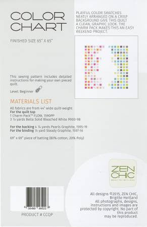 Pattern - Color Chart by Zen Chic