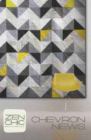 Pattern - Chevron News by Zen Chic
