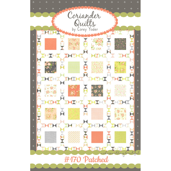 Pattern - Patched by Coriander Quilts