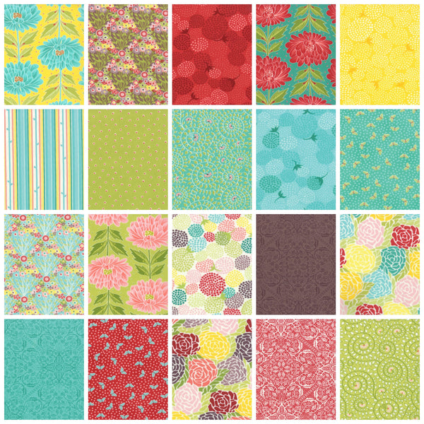 Chantilly by Lauren + Jessi Jung - Wall Flowers Buttercup (25070-12)