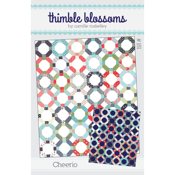 Pattern - Cheerio by Thimble Blossoms (TB181)