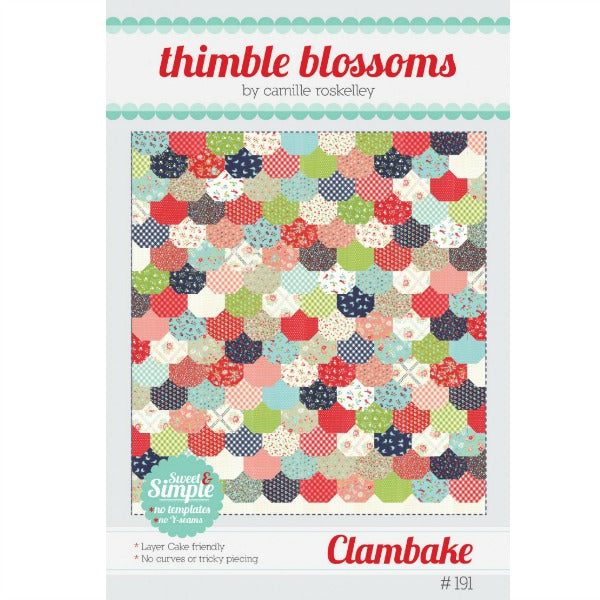 Pattern - Clambake by Thimble Blossoms