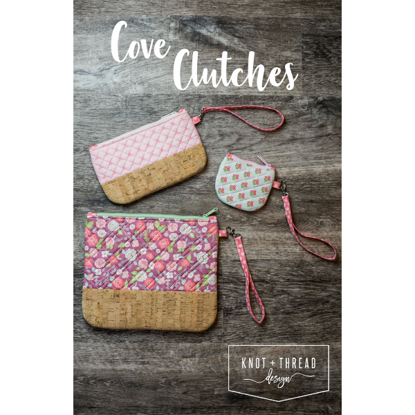 Pattern - Cove Clutches by Knot and Thread (KAT-104)