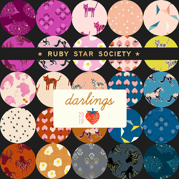 Darlings by Ruby Star Society - Pickles in Purple Velvet (RS5017-11M)