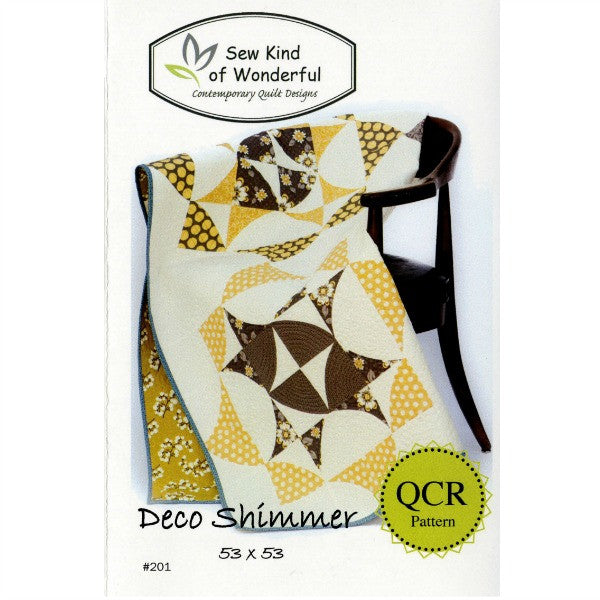 Deco Shimmer by Sew Kind of Wonderful (SKW201)