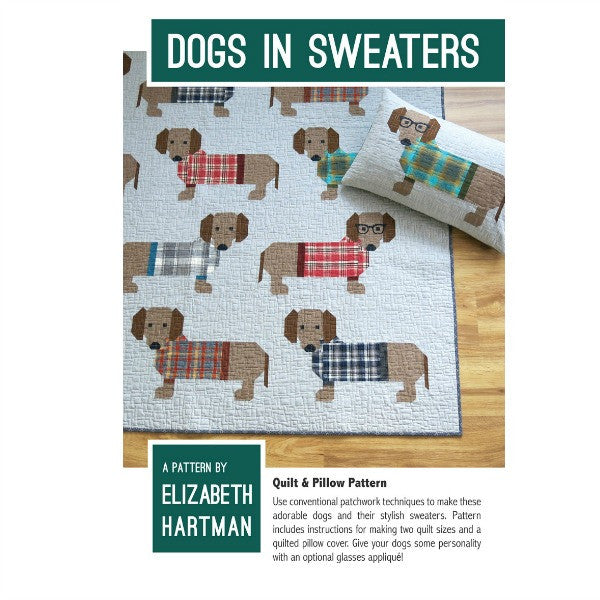 Pattern - Dogs in Sweaters by Elizabeth Hartman