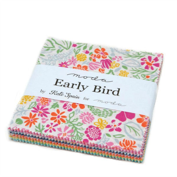 Early Bird by Kate Spain - Charm Pack (27260PP)