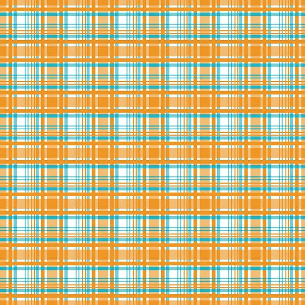 Alpine Fabrics by Carina Gardner - Plaid in Orange FLANNEL (F2116-ORANGE)