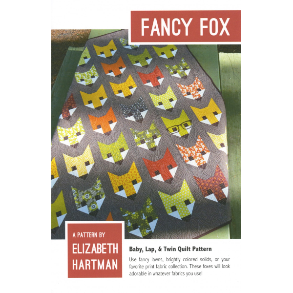 Pattern - Fancy Fox by Elizabeth Hartman