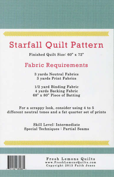 Pattern - Starfall by Fresh Lemons (FLE119)
