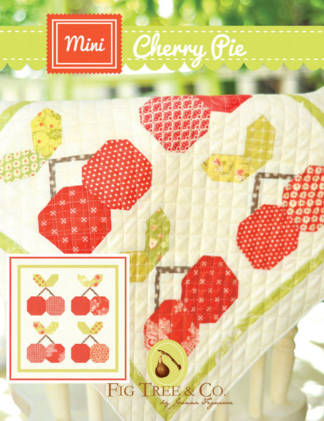 Pattern - Mini Cherry Pie by Fig Tree and Co (FTQ991)