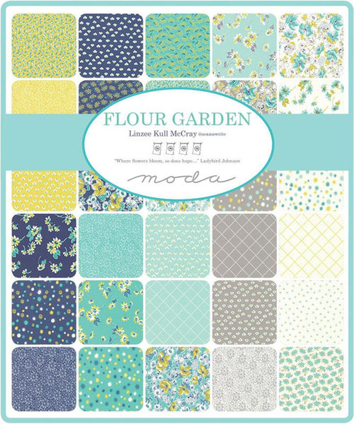 Flour Garden by Linzee Kull McCray - Nosegay in Feather (23320-11)
