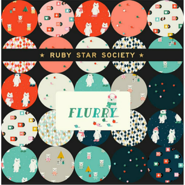 Flurry by Kimberly Kight - Snow Bears in Icebox (RS5028-11)