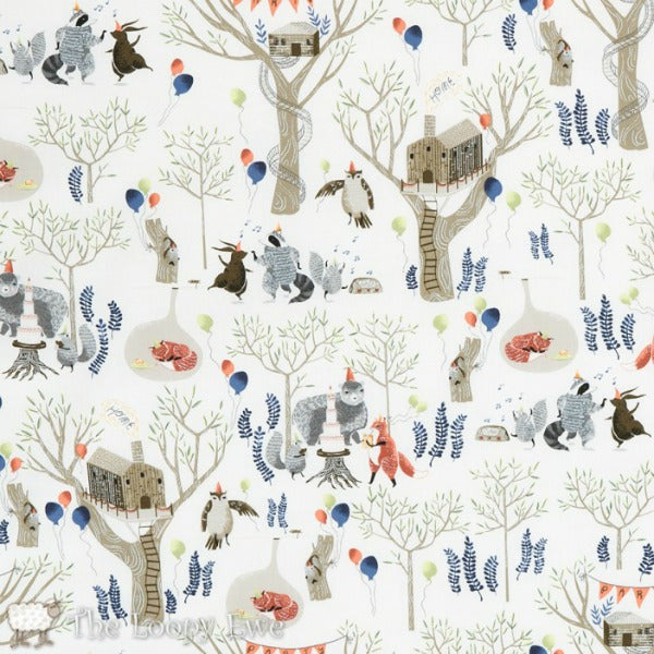 Fox Tail Forest by Rae Ritchie - Tree Top Party (SRR-518)