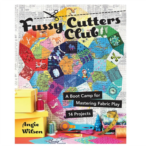 Book - Fussy Cutters Club by Angie Wilson