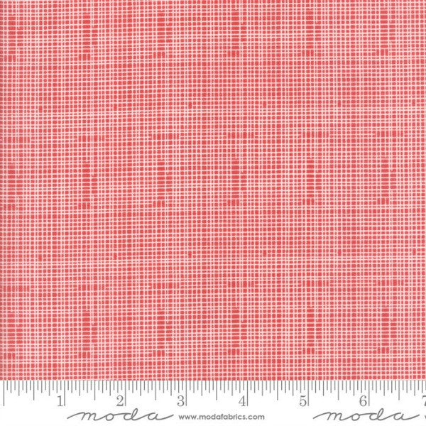 Hello World by Abi Hall - Grid in Red (35305-14)