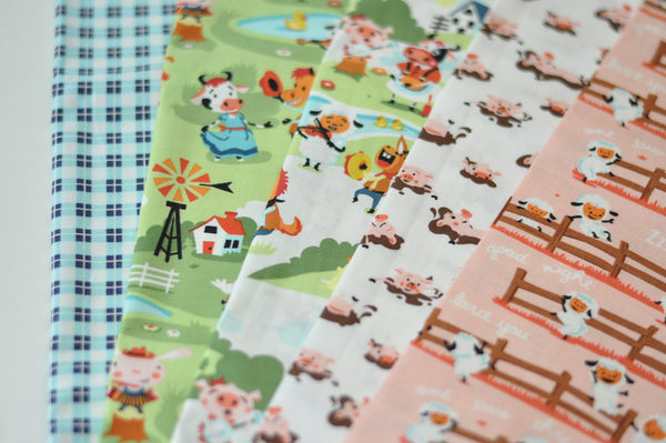 Harmony Farm by Shawn Wallace - Fat Quarter Bundle 128