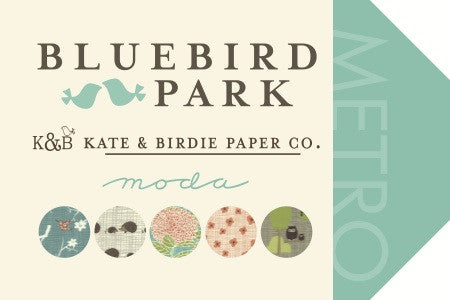 Bluebird Park by Kate and Birdie Paper Co - Everyday Panel (13100-13)