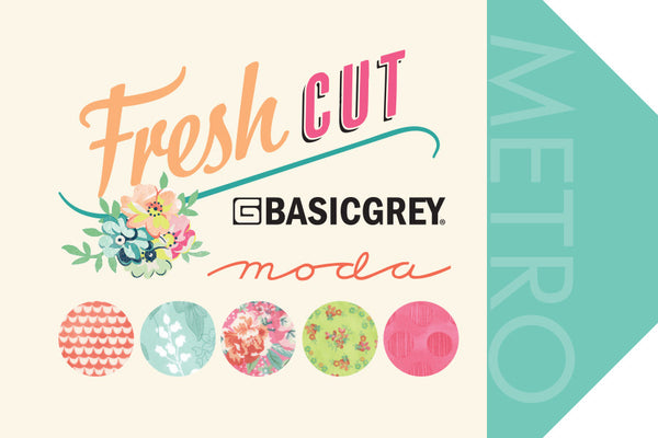 Fresh Cut by BasicGrey - Pink Flambe Violet Garden (30393-13)