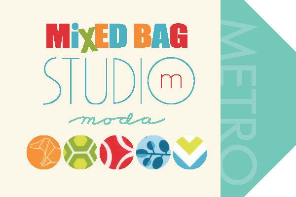 Mixed Bag by Studio M - Bubbles Cherry BRUSHED COTTON (32866-25B)