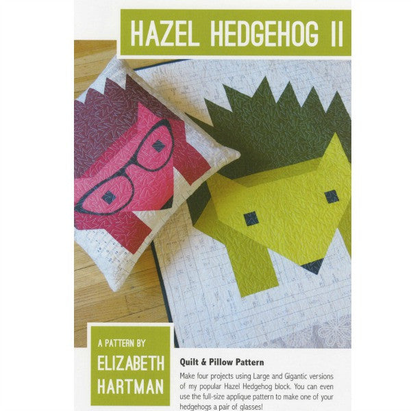 Pattern - Hazel Hedgehog II by Elizabeth Hartman