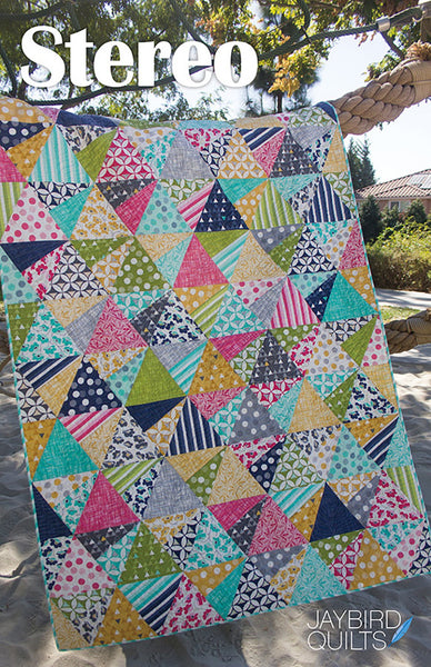 Pattern - Stereo by JayBird Quilts (JBQ151)
