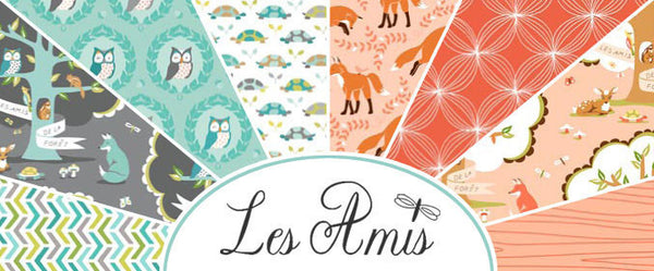 Les Amis by Patty Sloniger - Citron Lil Meadow (PS5795-CITRO)