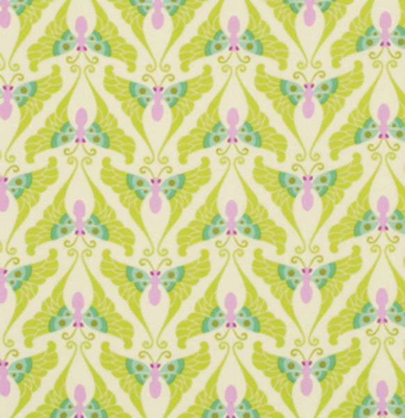 Lottie Da by Heather Bailey - Papillon Lime (PWHB040.LIMEX)