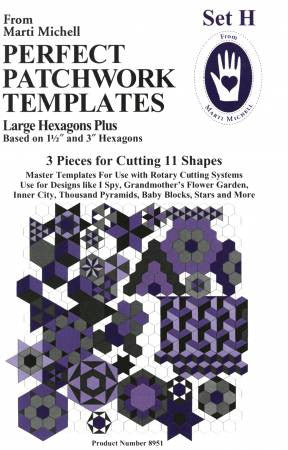 Perfect Patchwork Templates Set H (MM8951)