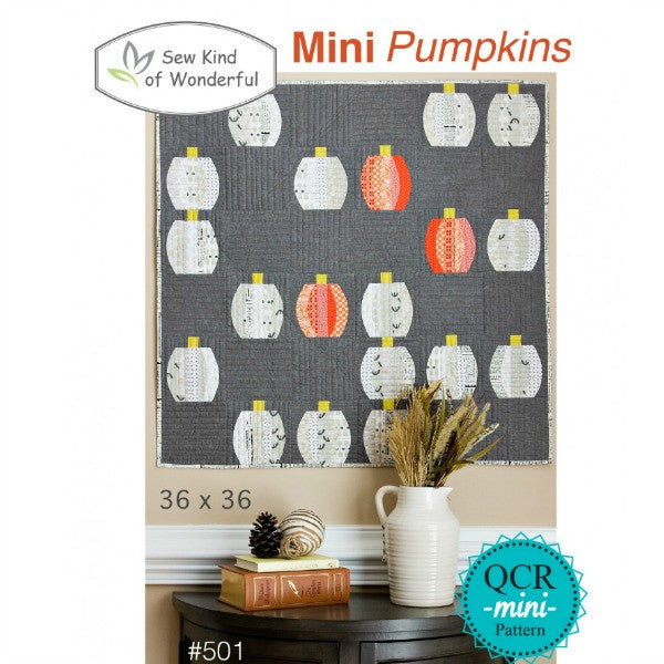 Mini Pumpkins by Sew Kind of Wonderful (SKW501)