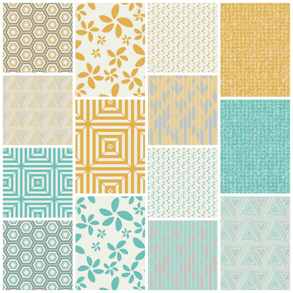 Minimalista by AGF Studio - Flora Turquoise (MNL-403)
