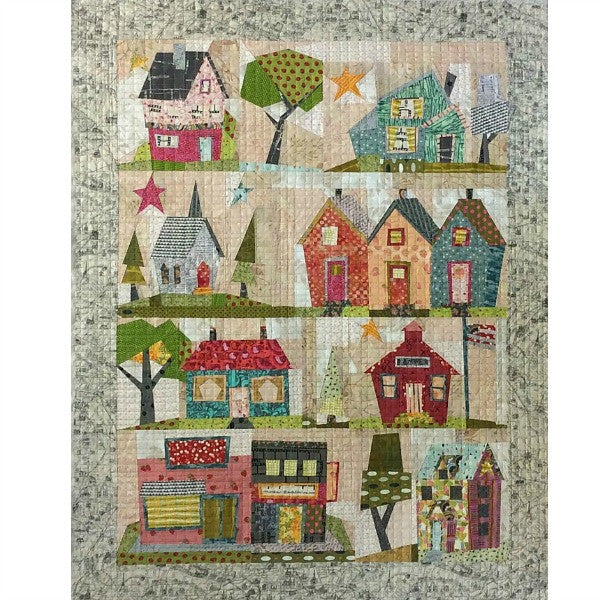 Pattern - My Kinda Town by Peggy Larsen