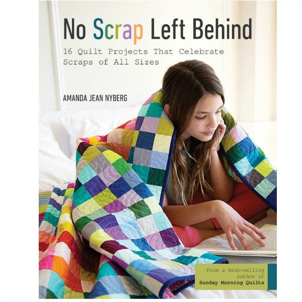 Book - No Scrap Left Behind by Amanda Jean Nyberg