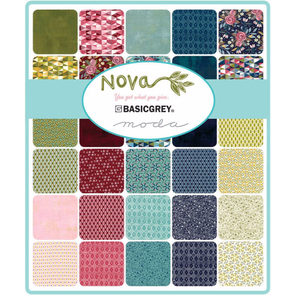 Nova by BasicGrey - Have Hope in Bleached Linen and Pinwheel Pink (30583-12)