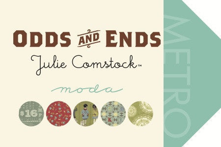 Odds and Ends by Julie Comstock - Remnant Leaf (37046-15)