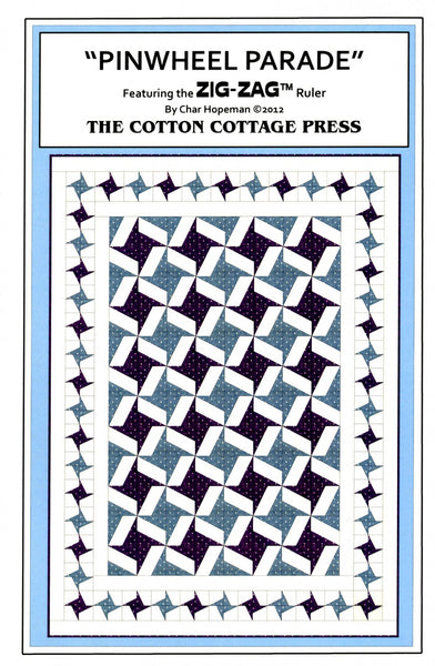 Pattern - Pinwheel Parade by The Cotton Cottage Press