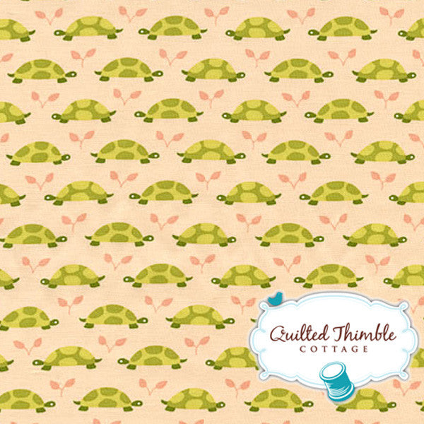 Les Amis by Patty Sloniger - Peach Turtle Parade Tonal (PS5799-PCH)