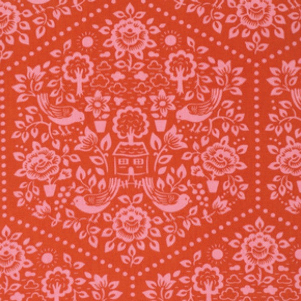 Clementine by Heather Bailey - Summerhouse Red (PWHB057.REDXX)
