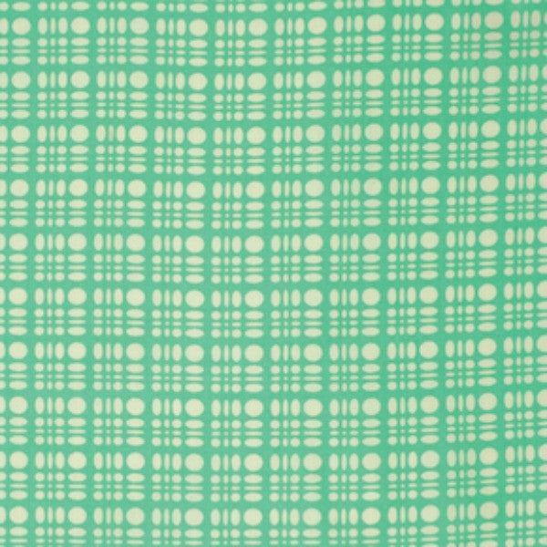 Clementine by Heather Bailey - Dot Weave Turquoise (PWHB058.TURQU)