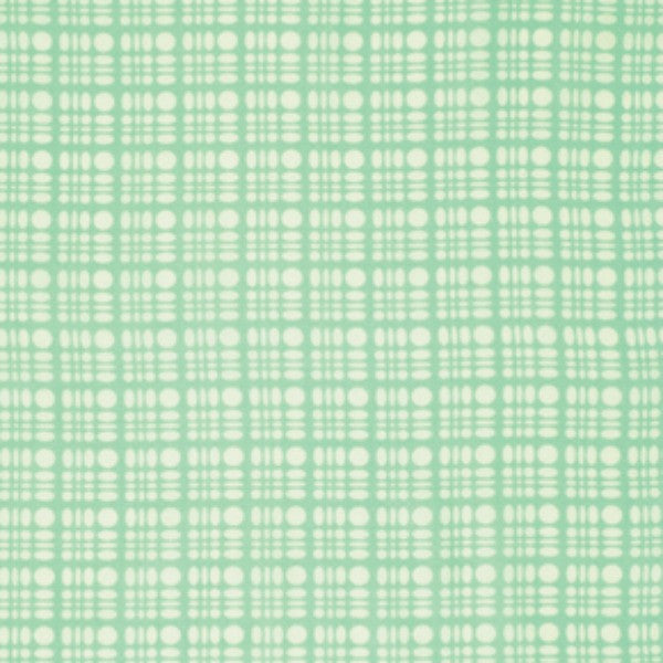 Clementine by Heather Bailey - Dot Weave Aqua (PWHB058.AQUAX)