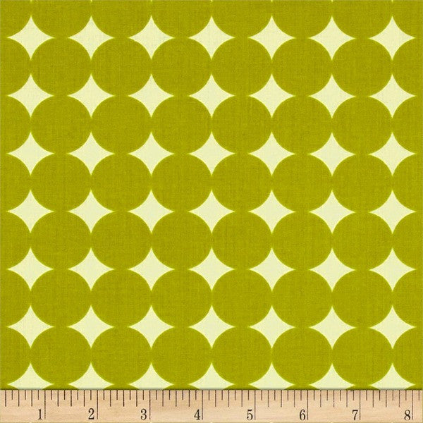 True Colors by Heather Bailey - Mod Dot Olive (PWTCO14.OLIVE)