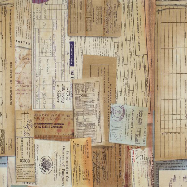 Eclectic Elements by Tim Holtz - Documentation in Neutral (PWTH002.NEUTR)