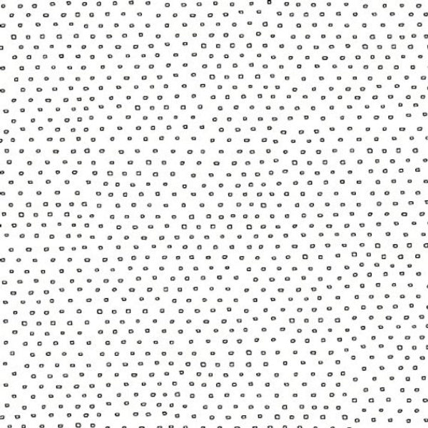 Pixie Square Dot Blender by Ink & Arrow Fabrics - Square Dot in White (24299-Z)