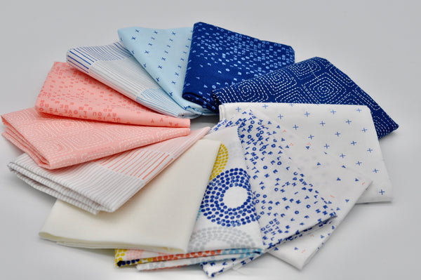 Breeze by Zen Chic - Fat Quarter Bundle No 2