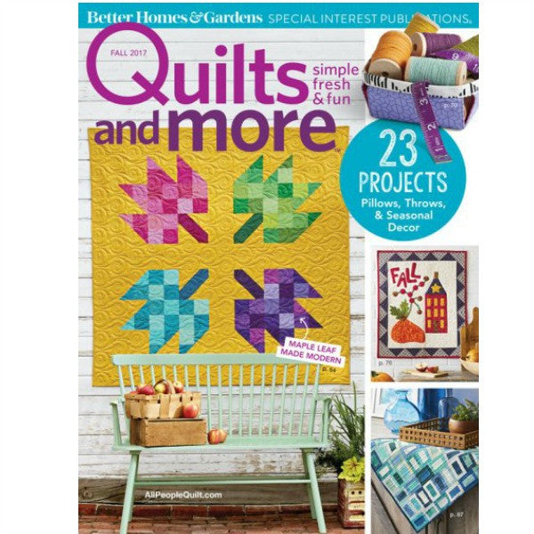 Magazine - Quilts and More (Fall 2017)