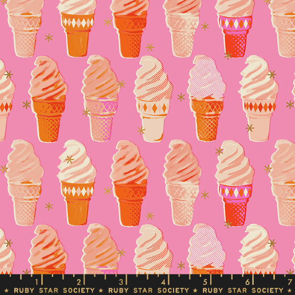 Social by Melody Miller - Ice Cream in Bubblegum Pink (RS0003-13M)