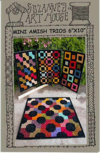 Pattern - Mini Amish Trios by Suzanne's Art House