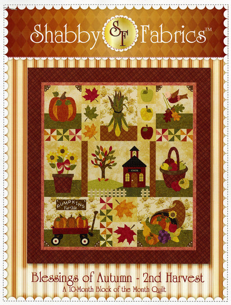 Pattern - Blessings of Autumn by Shabby Fabrics