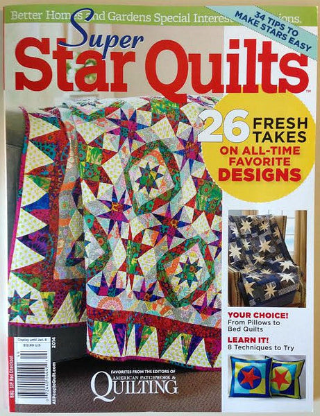 Magazine - Super Star Quilts (Fall 2014)
